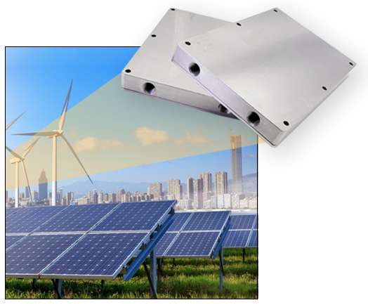 ATS (Advanced Thermal Systems) new ATS-CP Series of IGBT Liquid Cold Plates in ATS-CP-1000