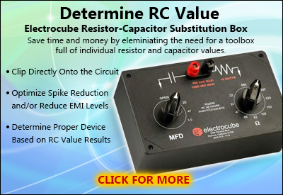 Electrocube RC Networks Capacitor-Resistor Substitution Box