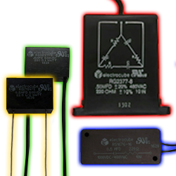 Electrocube RC Networks Single-Phase and Three-Phase Resistor-Capacitor Circuits