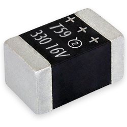 Vishay T59 vPolyTan Multi-Anode Polymer Surface-Mount Chip Capacitors from New Yorker Electronics