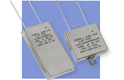 Cornell Dubilier MLS/MLP Flat Pack Ruggedized Aluminum Electrolytic Capacitors type HRMLS
