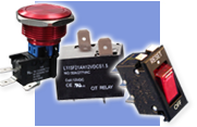 CIT Relay & Switch electro-mechanical automotive relays, UL approved and latching relays, relay socket