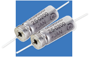 The Exxelia MIL 39006/22 Exxelia Hermetically Sealed Mil Wet Tantalum Capacitor has received the P-Level qualification